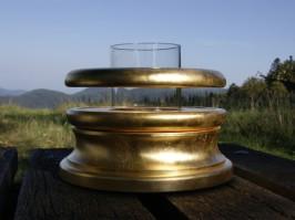 Fontaine Magnétique Ormus Silver avec revêtement en argent