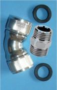 Ecarteur pour filtre douche, union d'angle RACO00018