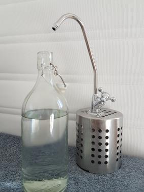 Robinet eau pure voyage