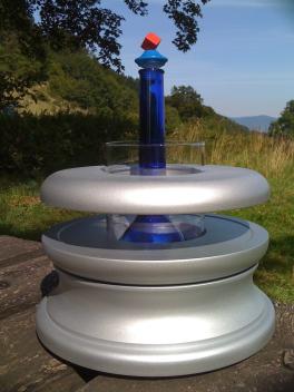 Fontaine Magnétique Ormus Titane