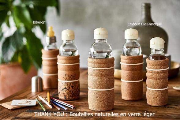 THANK YOU bouteilles naturelles en verre léger
