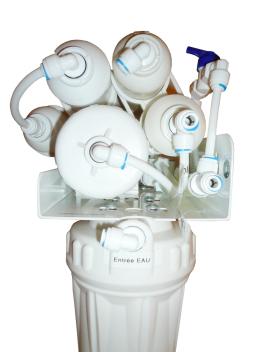 Osmoseur Basic Plus 280 vu de coté
